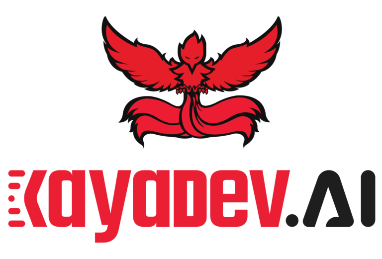 KayaDev AI Logo Red & Black
